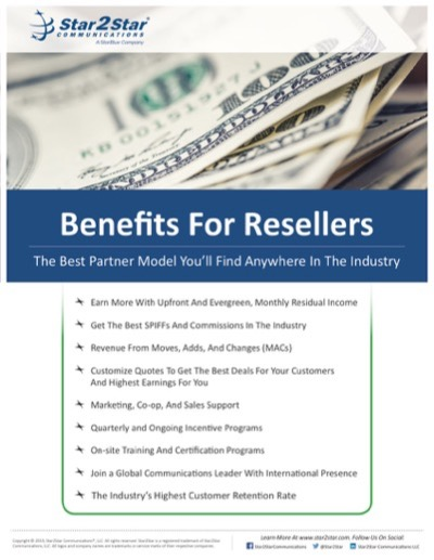 benefits of becoming a Star2Star reseller