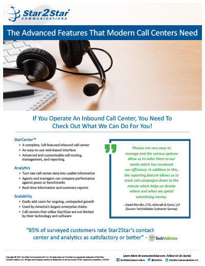 Call Center Vertical Slick