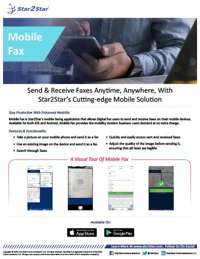 Mobile Fax
