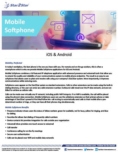 Mobile Softphone