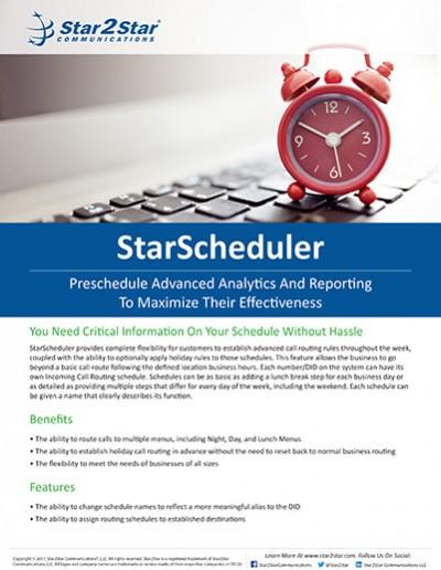 StarScheduler