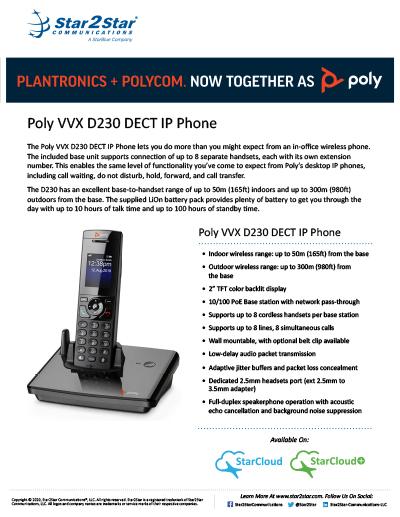 Poly Polycom D230 DECT