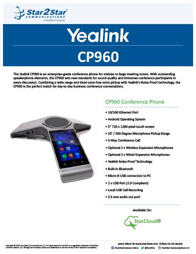 Yealink CP960
