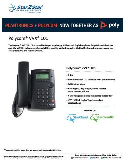polycom vvx 101