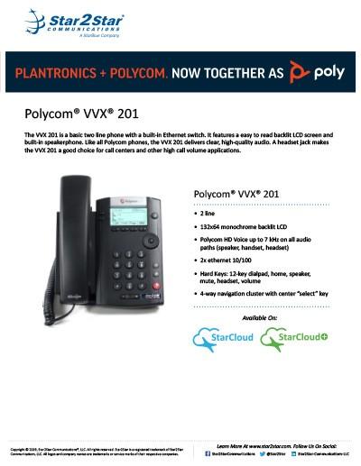 polycom vvx 201