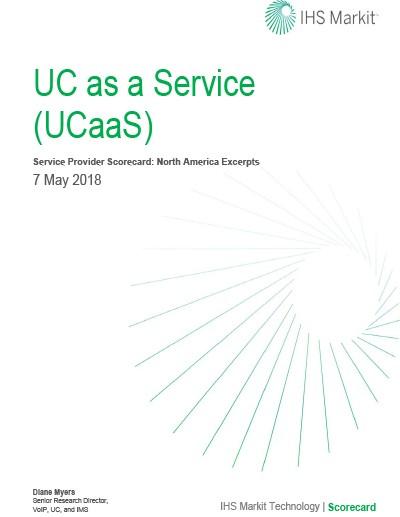 2018 IHS Markit UCaaS Scorecard