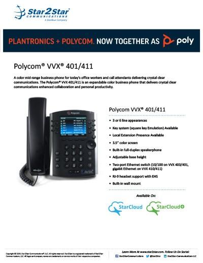 polycom vvx 401 411