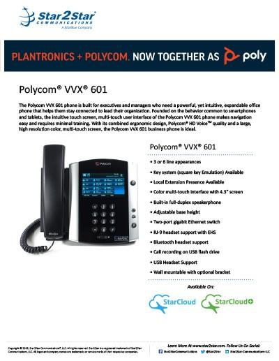 polycom vvx 601