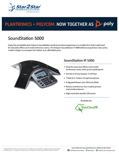 IP 5000 Conference Phone