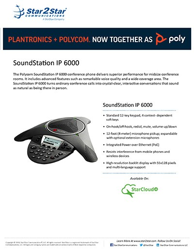 IP 6000 Conference Phone