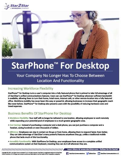 StarPhone for Desktop