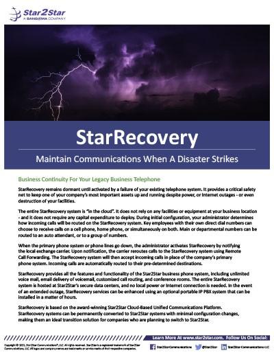 StarRecovery
