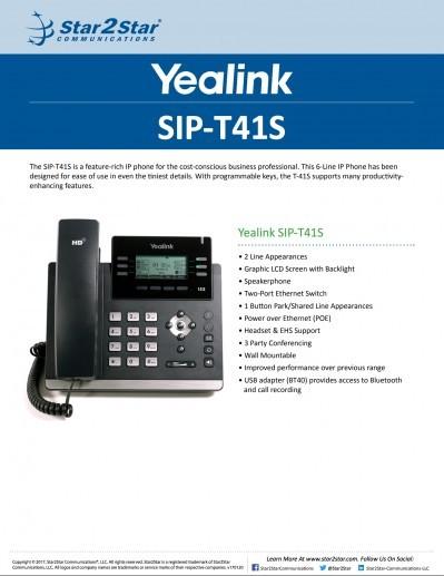 Yealink T41S