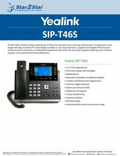 Yealink T46S
