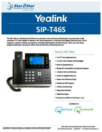 Yealink SIP-T46S