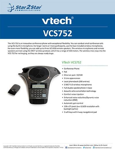 VTech VCS752