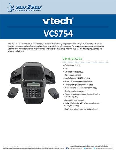 VTech VCS754