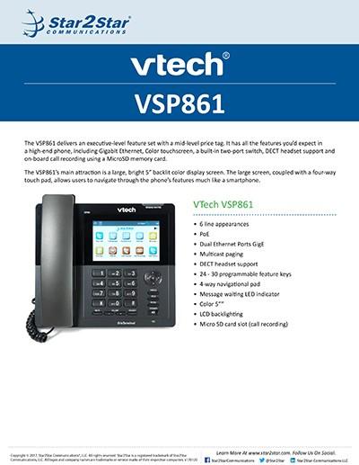 VTech VSP861