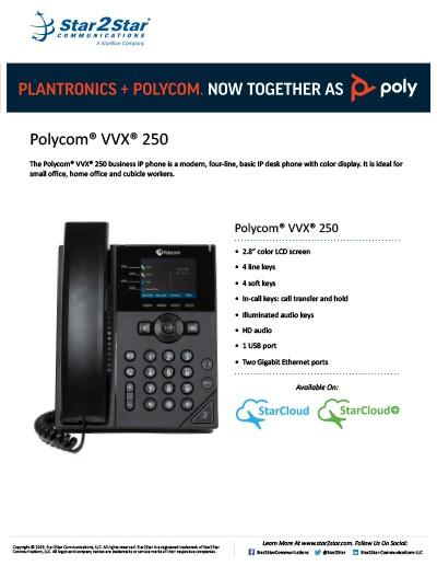 Polycom VVX 250