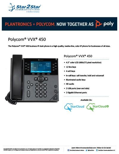 Polycom VVX 450