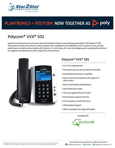 Polycom® VVX® 501