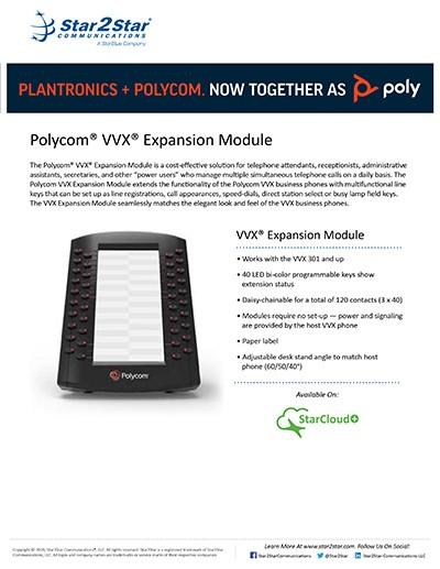 Polycom® VVX® Expansion Module