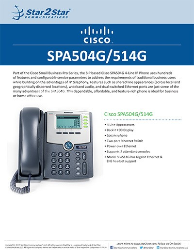 SPA 504 514G