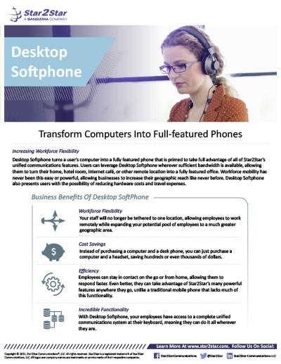 Desktop Softphone