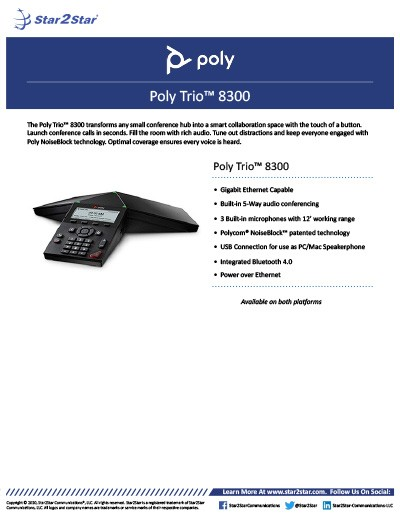 Poly Trio 8300