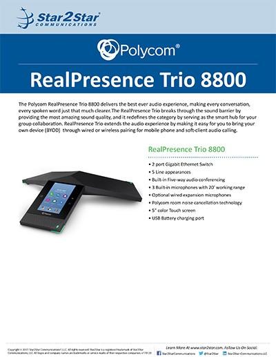 RealPresence Trio 8800