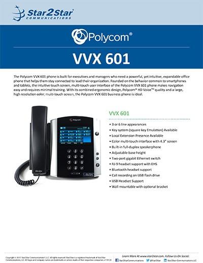 Polycom® VVX® 601