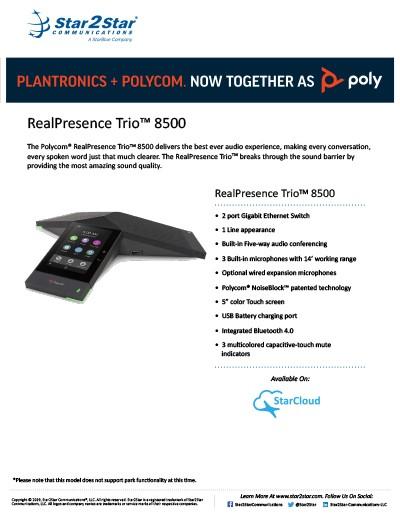 Polycom RealPresence Trio 8500