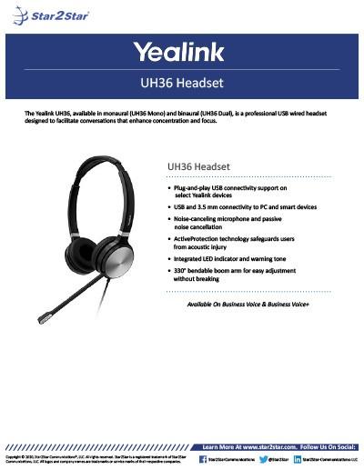 Yealink UH36