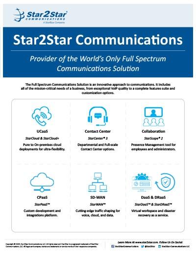 Star2Star sales overview brochure