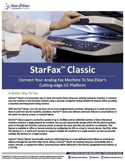 StarFax Classic