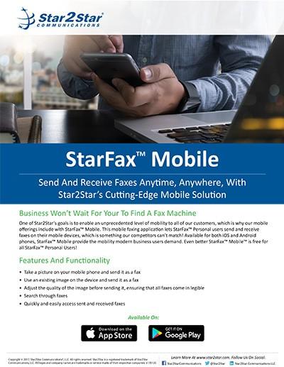 StarFax Mobile