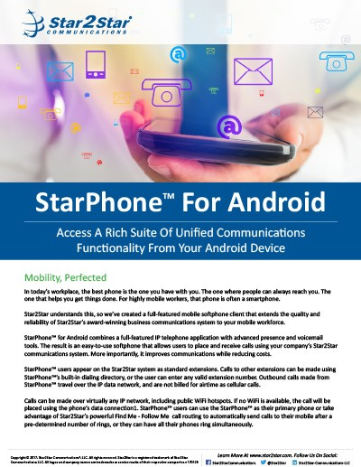 StarPhone for Android