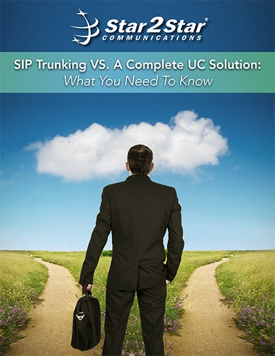 SIP Trunking vs. Complete UC Solution