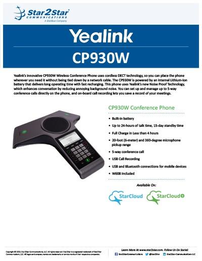 Yealink CP930W